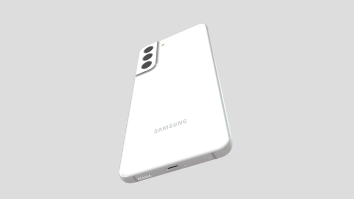 Samsung Galaxy S21 FE 3D model Evan Blass