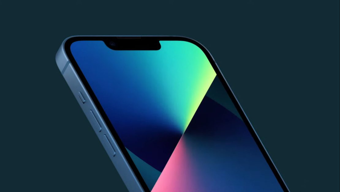 iPhone 13 front notch