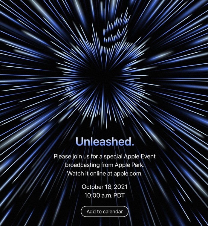 Apple Unleashed October 2021 event