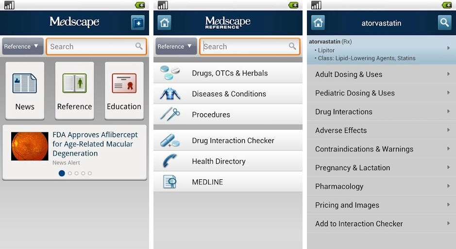 Best Android apps for doctors physicians and medical