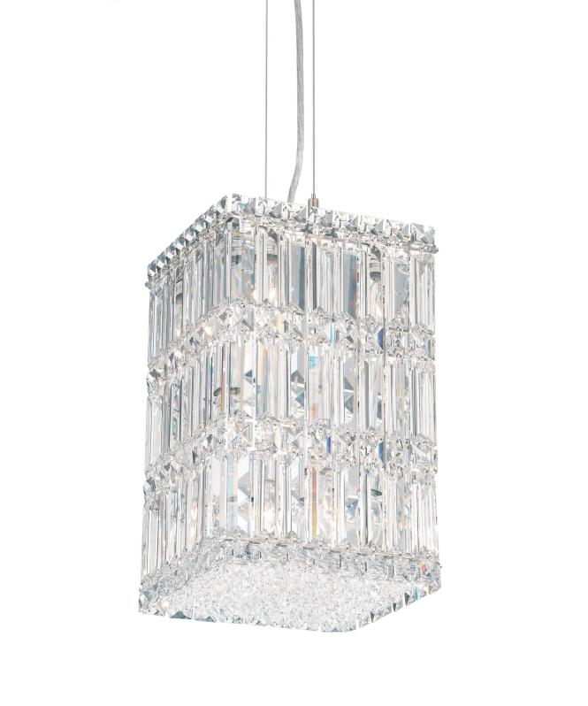 Shown In Stainless Steel Finish And Clear Swarovski Spectra Crystal