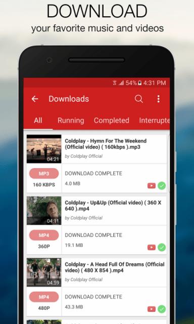 Videoder Youtube Downloader and Converter  Download APK