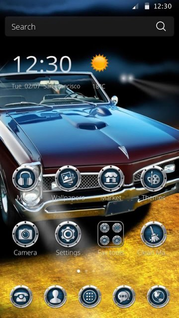 Cm Launcher 3d Wallpaper Download Muscle Car Theme For Cm Launcher Download Apk For