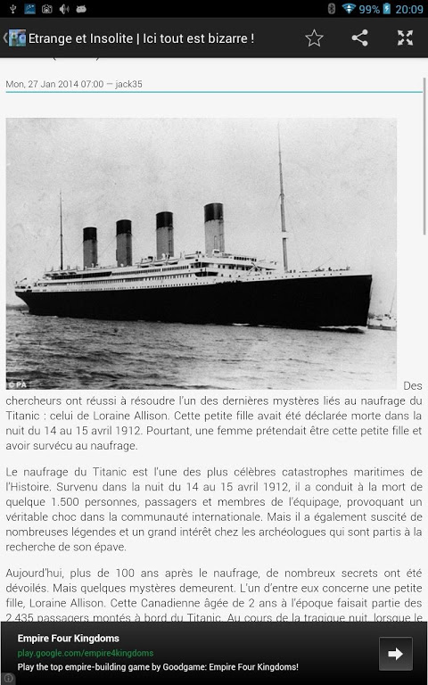 D Où Est Parti Le Titanic : parti, titanic, Universal, Media, Stream, (New), 1.4.0, Download, Android, Aptoide