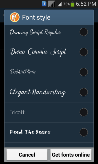 Download Stylish Fonts #2 | Download APK for Android - Aptoide