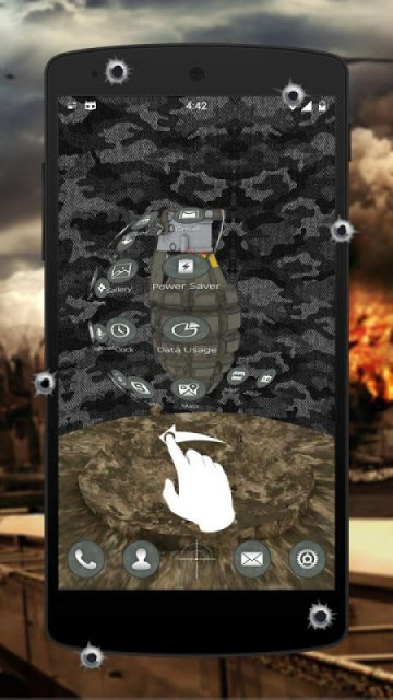 Cm Launcher 3d Wallpaper Download Army Military 3d Theme For Cm Launcher Download Apk For