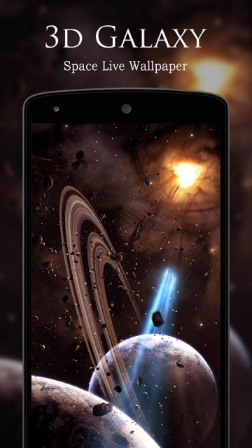 3D Galaxy Space Live Wallpaper | Download APK for Android ...