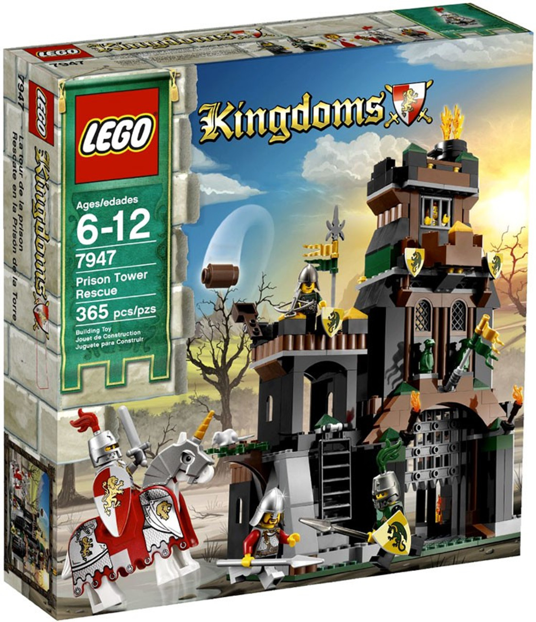 LEGO Kingdoms Prison Tower Rescue Set 7947 ToyWiz