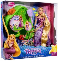 Disney Tangled Braiding Friends Hair Braider Doll Mattel ...