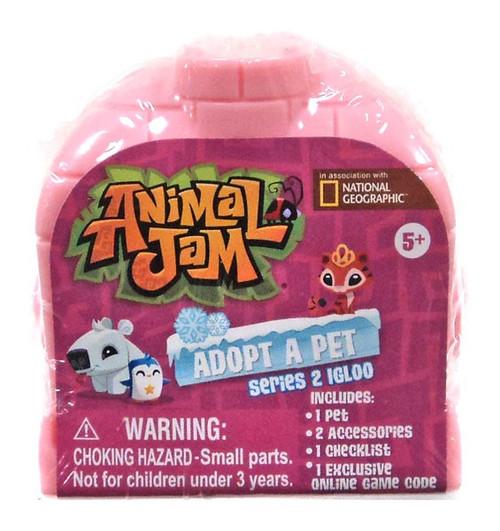Igloo Series 2 4 x IGLOOS Jazwares Animal Jam National Geographic Adopt A Pet