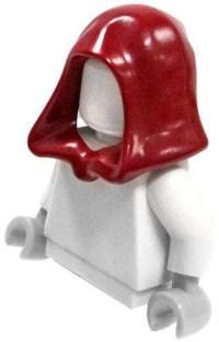 LEGO Minifigure Parts Dark Red Hood Loose - ToyWiz