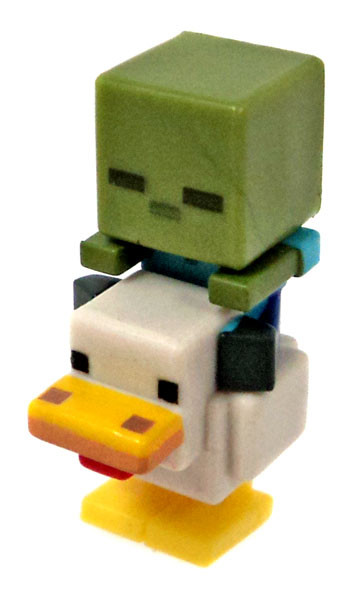Minecraft Ice Series 5 Chicken Zombie Mini Figure Loose