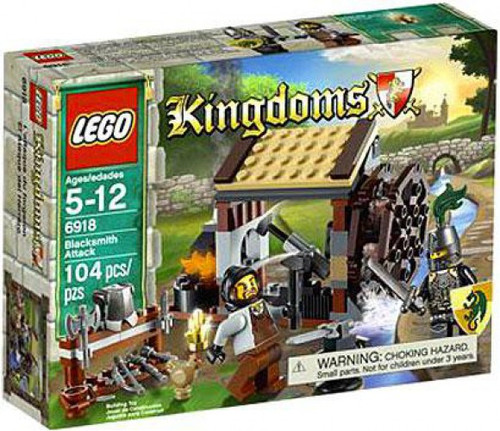 Lego Kingdoms Blacksmith Attack Set 6918 Toywiz