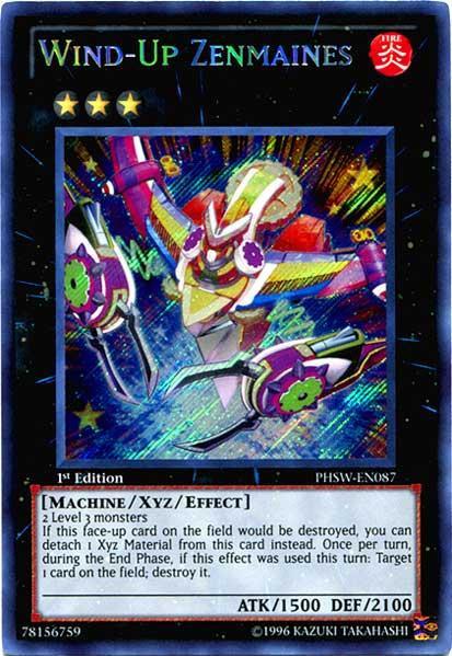 YuGiOh Zexal Photon Shockwave Single Card Secret Rare Wind