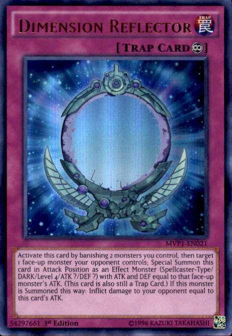 YuGiOh Dark Side Of Dimensions Movie Single Card Ultra