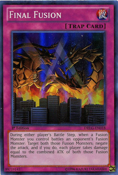 YuGiOh Dragons Of Legend Single Card Super Rare Final