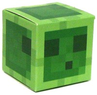 Minecraft Slime Papercraft Single Piece Jazwares