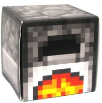 Minecraft Lit Furnace Papercraft Single Piece Jazwares ...