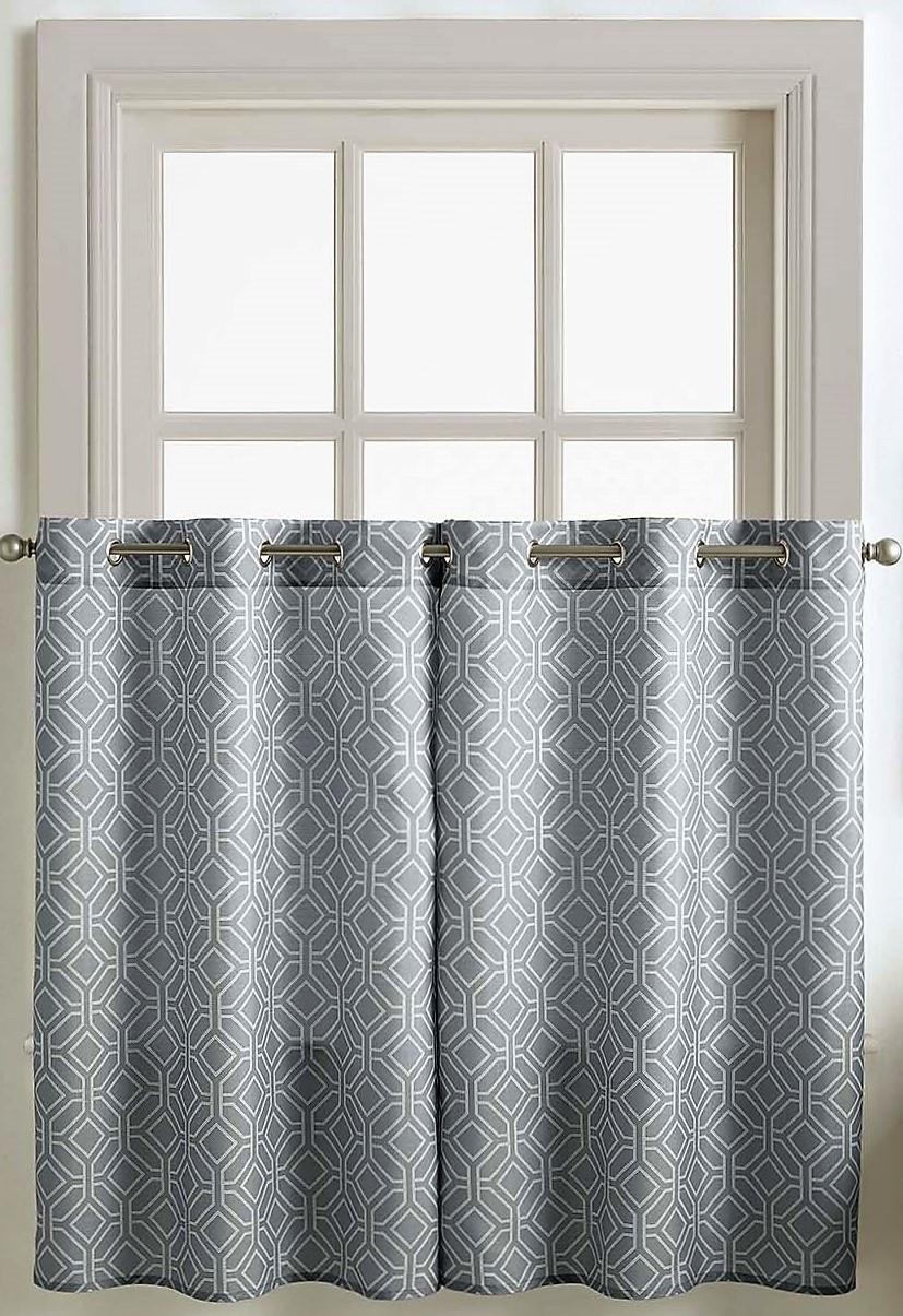 """Neiva 36"""" Kitchen Curtain Tier"""