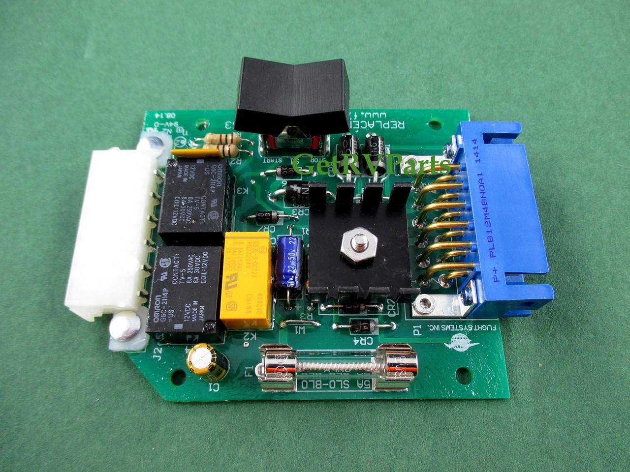 medium resolution of onan aftermarket 300 3763 01 generator circuit board by flight systems rh getrvparts com onan generator manual onan generator troubleshooting