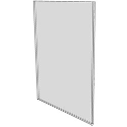5x7 Wall Mount Sign Holder No Holes DSLHPN0507 Buy