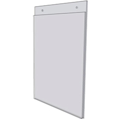 11x14 Wall Mount Sign Holder With Holes DSLHP1114 Buy
