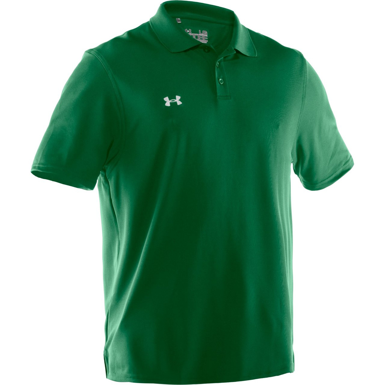 Under Armour Team Performance Polo - Kelly Green White