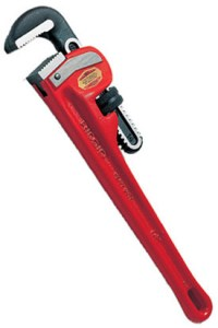 Ridgid 18 inch steel pipe wrench