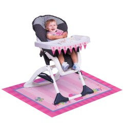 High Chair Girl Koken Barber For Sale Fun At One Decorating Set
