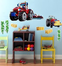 Farm Tractor Giant Wall Decal - ThePartyWorks