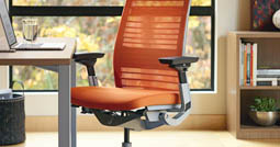 humanscale liberty chair review scan design chairs ergonomic review: the steelcase think - human solution