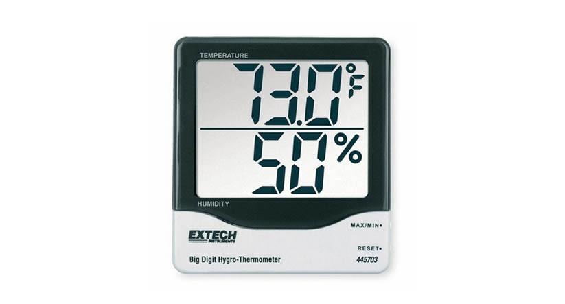 Extech 445703 Big Digit HygroThermometer