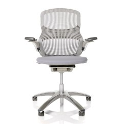 Executive Mesh Office Chair High Seat Chairs Elderly Leeds Knoll Generation | Shop