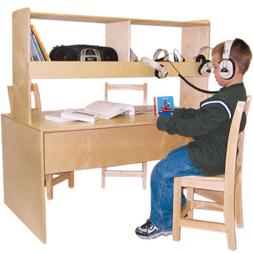 Wood Designs Listening Center Reading Table WD17300