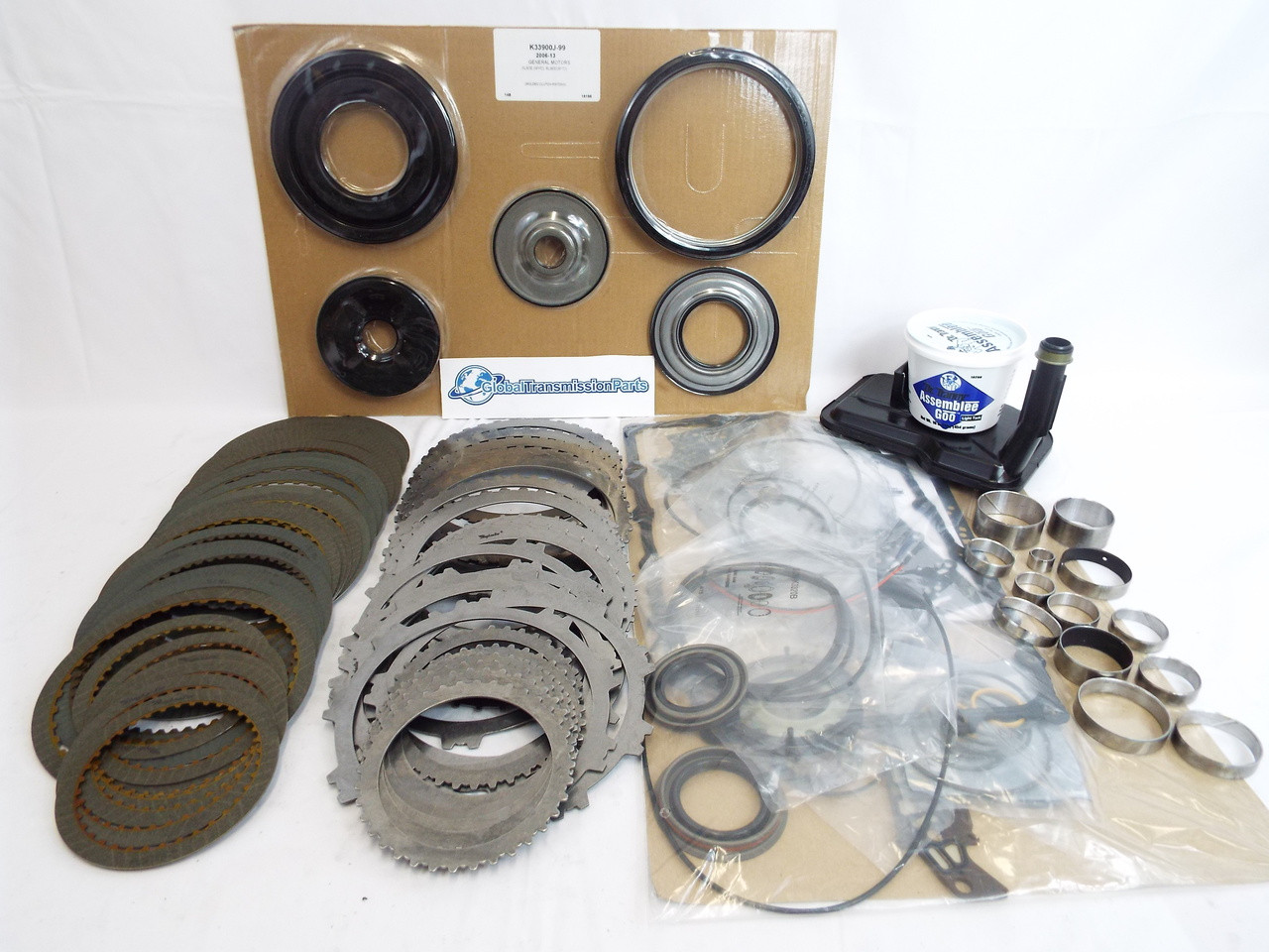 small resolution of the most complete 6l80 transmission super master rebuild kit image 1