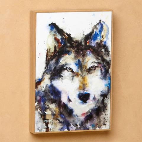 Traveler Wolf Wall Art