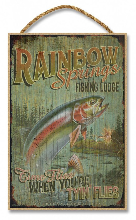 coffee signs kitchen decor stainless steel shelf with hooks rainbow springs fishing lodge rustic advertising wooden 7 ...
