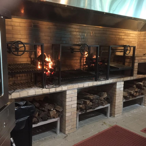 One Big Gas Grill Surface