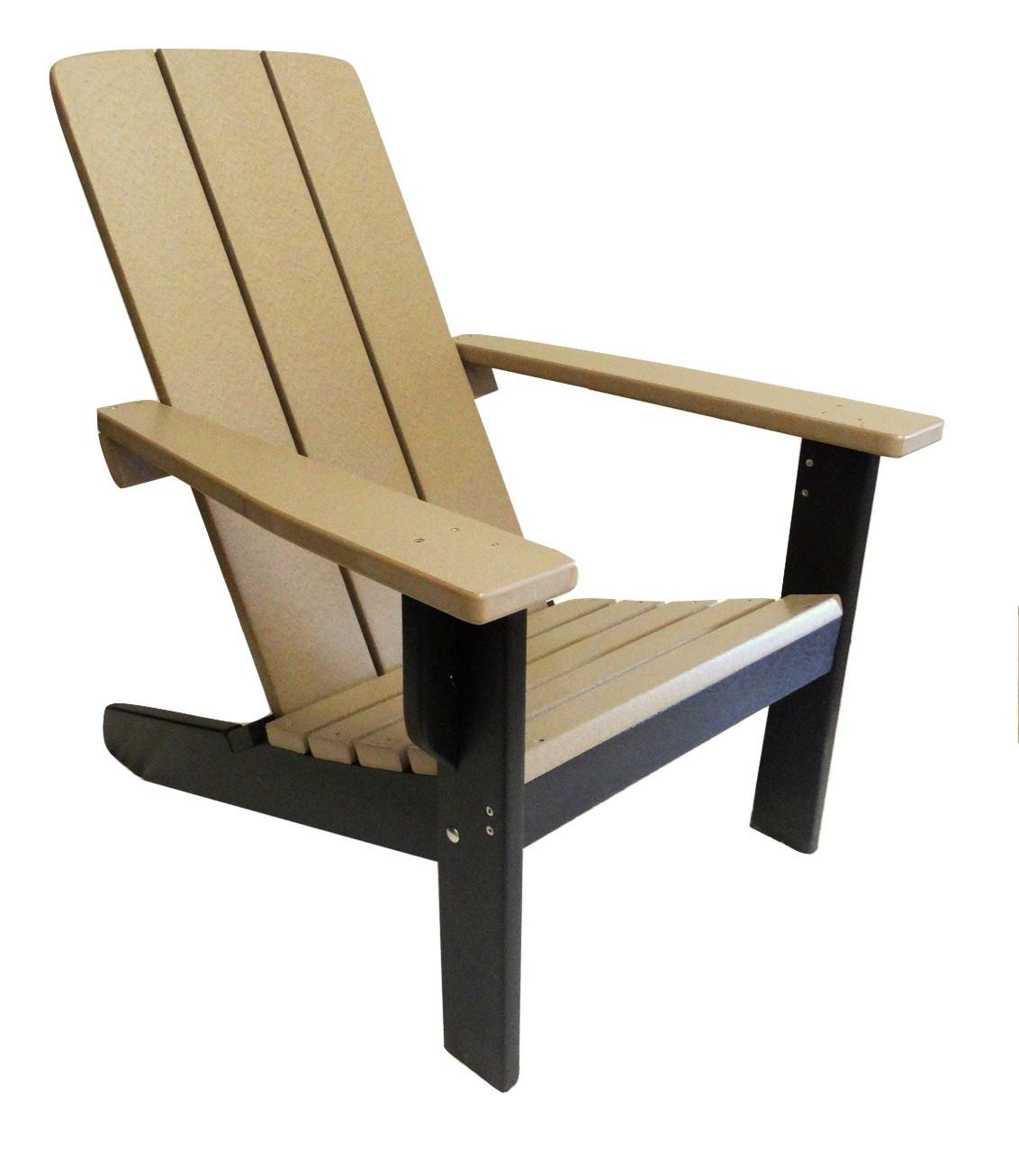 Two Tone Modern Adirondack Chairs