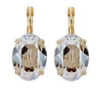 Earring - 14mm Oval Dangle - Victoria Lynn Jewelry