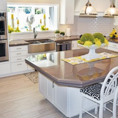 Epoxy Resin Kitchen Countertops Antique Red Cabinets 8 Popular Themes | Countertop Blog - Counter ...