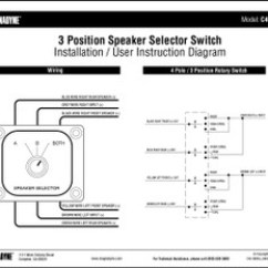 Speaker Selector Switch Wiring Diagram 12v Winch Motor Magnadyne Products -