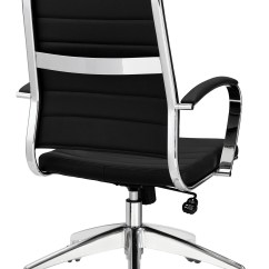 Black Chair Matrix Accessories Aria Leather High Back Office Many Colors