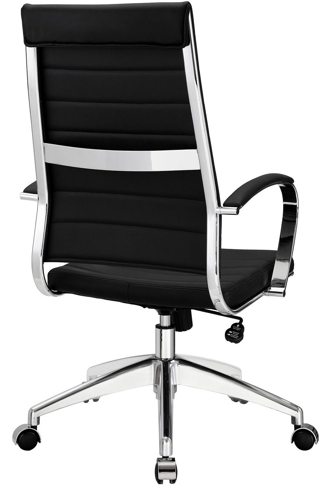 Chair Back Aria Leather High Back Office Chair Many Colors
