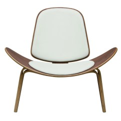 White Shell Chair Kitchen Stool With Steps Wegner Home And Office Furniture