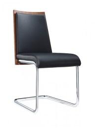 Milo Walnut And Black Modern Dining Chair | Modern Dining ...