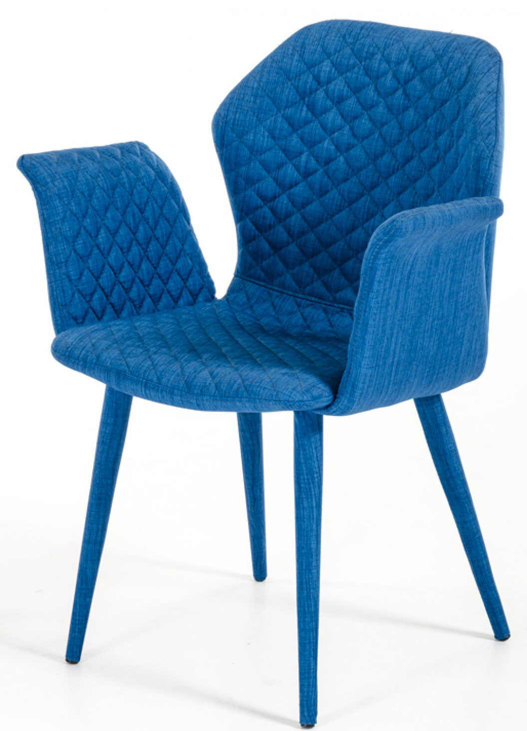 Blue Upholstered Dining Chairs Zaffiro Blue Upholstered Chair Dining Chair Blue