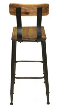 "Rustic Boston 28"" Seat Height Bar Stool   Industrial Bar ..."