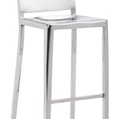 Modern Steel Chair Design Swing Synonym Zuo Fall Bar Stainless 29 9 Quot