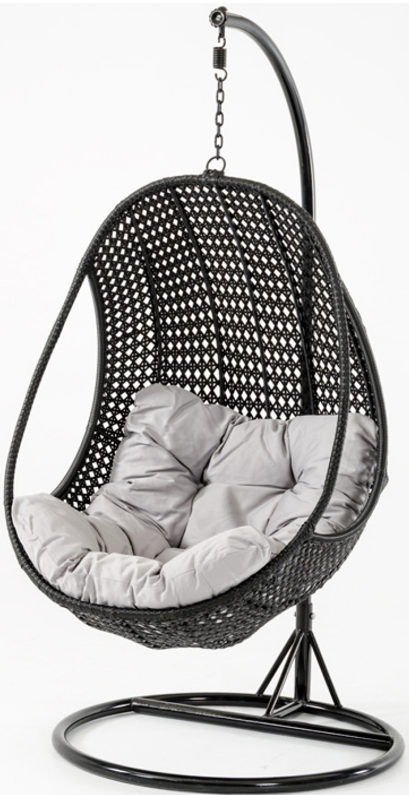 Sardinia Rattan Pod Hanging Chair  Outdoor Patio Furniture